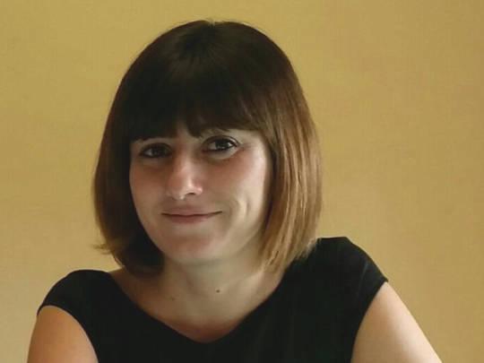 Ester Deplano - Formatrice per il laboratorio sulla cecità nel progetto Paesaggi visivi e sonori