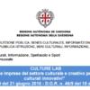 Bando Culture Lab Regione Autonoma dell Sardegnaper progetti innovativi di fruizione dei beni culturali