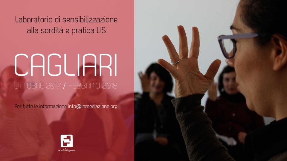 Laboratorio di sensibilzzazione alla sordità e pratica LIS - Cagliari ottobre 2017 / febbraio 2018