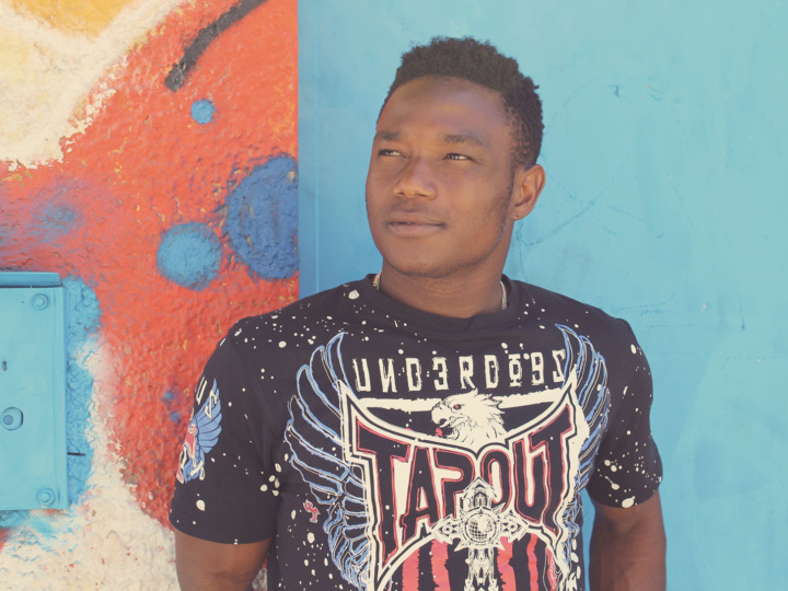Amal. Una nuova vita. I protagonisti del documentario: Abdou dalla Guinea